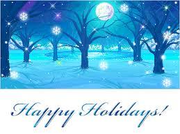 Winter Holiday Season