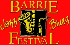 Barrie Jazz and Blues Festival Logo