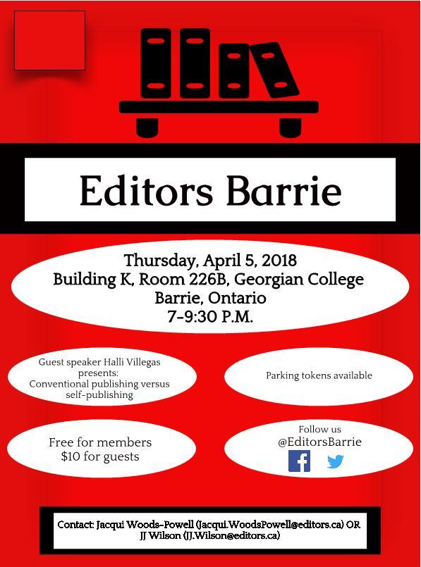 Editors Meeting Barrie